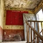 Tür zum Dachboden