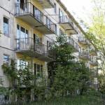Wohnblock der sowjetischen Soldaten und Familien